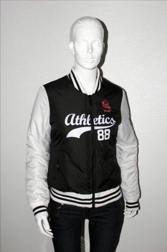 Damen Collegejacke Basketballjacke Jacke schwarz Gr. S*NEU*OVP*