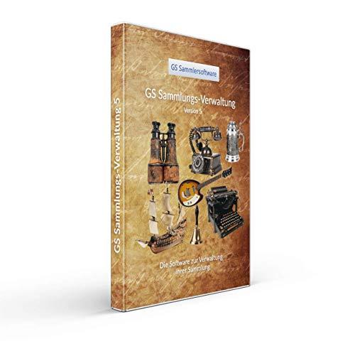 GS Sammlungsverwaltung 5 - Software zum Verwalten Ihrer Sammlung - Datenbank Programm zur Verwaltung von beliebigen Sammlungen