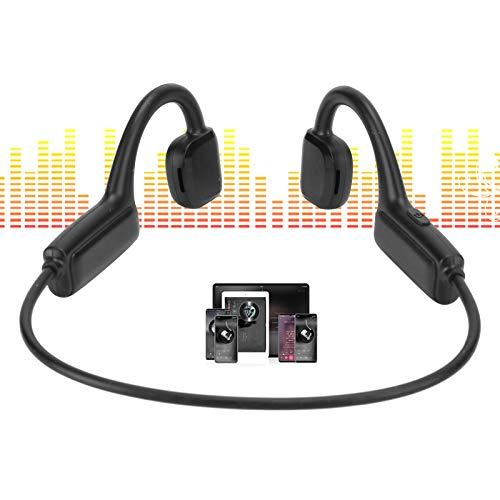 KAKAKE Auriculares Deportivos, Auriculares inalámbricos Inteligentes de Baja vibración para Entretenimiento para estudiar