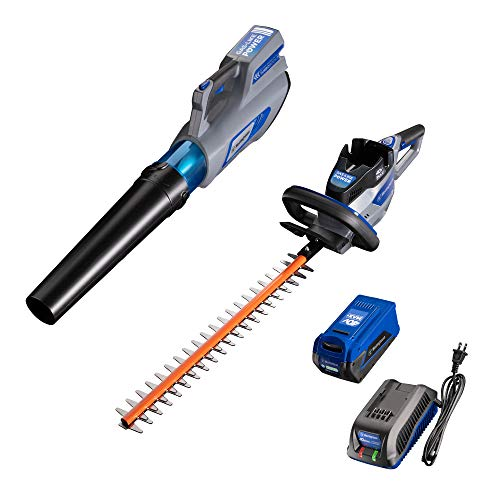 Check Out This Westinghouse 40V Cordless Hedge Trimmer and Chainsaw, 2.0 Ah Battery and Charger Incl...