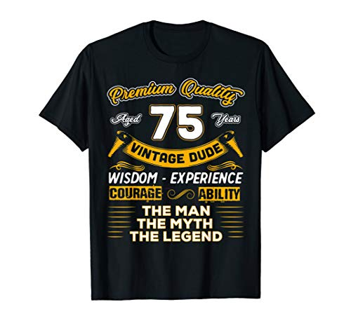 Vintage Dude The Man Myth Legend Shirt