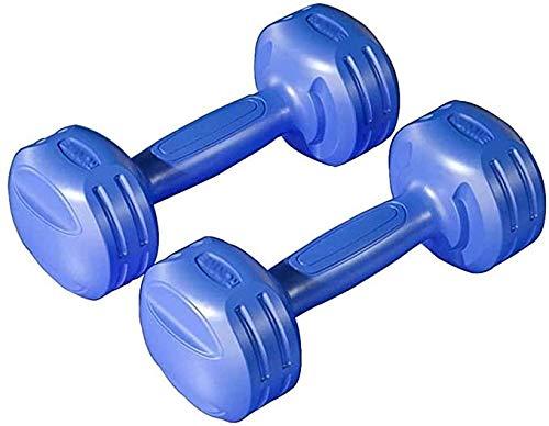 Für alles dankbar Hantel Hantel Damen Fitnessgeräte Home Pair Männer Und Kinder Yoga Kleine Hantel Weiblich(Size:3 kg,Color:Blau)