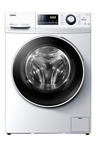 Haier HW90-B14636N-IB - Lavadora 9kg, Motor Inverter Direct Motion, ABT Antibacterias, Función Vapor, Libre Instalación, 67dba, 1400rpm, Clase A