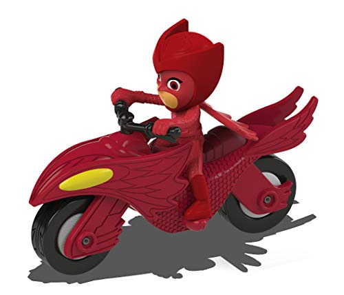 Dickie Toys PJ Masks - Coche de Metal con Rueda Libre, 7 cm, a Partir de 3 aos