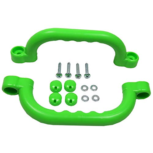 Gartenpirat Haltegriffe apfelgrün Zubehör Spielanlagen Set mit 2 Handgriffe für Kinder