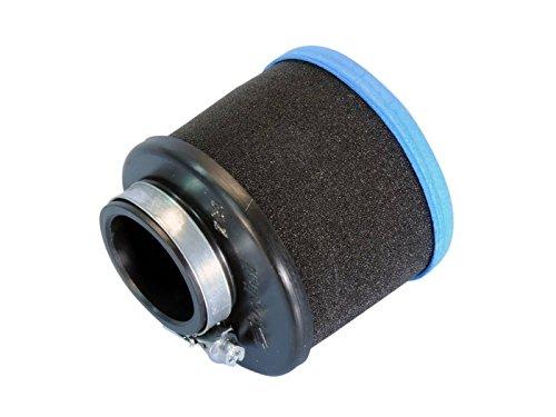 Luftfilter Polini Evolution 2 39mm gerade schwarz-blau