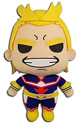 "Great Eastern Entertainment My Hero Academia All Might Plush Toy, 8"" H, Multicolor by GE Animation"