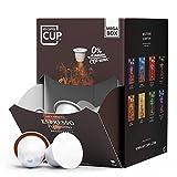My-CoffeeCup Mega-Box Cápsulas de Café Espresso Fortissimo