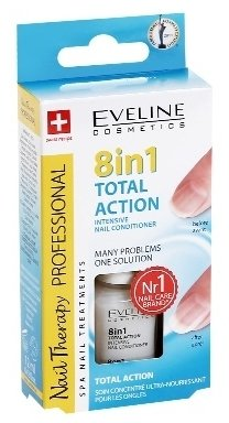 Total Action Eveline 8 in 1 Intensive Nail Conditioner Many Problems 1 Solution