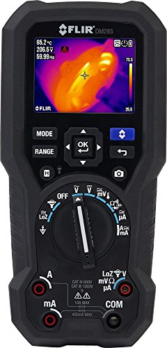 FLIR DM285 - Industrial Thermal Imaging Multimeter - with IGM (Infrared Guided Measurement) and wirelessly connectivity to FLIR Tools or The New FLIR...