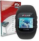 atFoliX Schutzfolie kompatibel mit Polar A300 Folie, ultraklare & Flexible FX Bildschirmschutzfolie (3X)