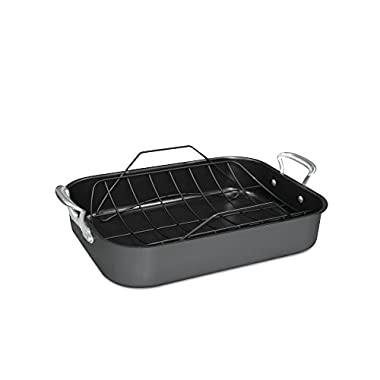 Nordic Ware 41722  Roaster with Rack, X-Large, Black