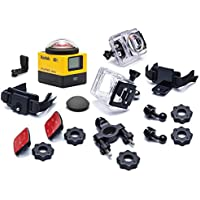 Kodak PIXPRO SP360 360 Degree VR Action Camera with Explorer Pack and Waterproof Housing Case