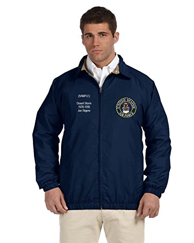 Embroidered Military Jacket for Mens