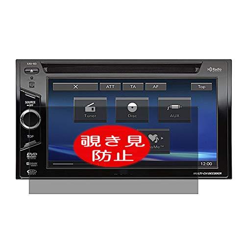 Vaxson - Protector de pantalla de privacidad compatible con Sony XAV-601BT / XAV-602BT, antiespía, protector de pantalla [no vidrio templado]