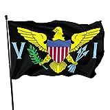 Paoseven United States Virgin Islands Flag Logo Decorative Garden Flags, Outdoor Artificial Flag For Home, Garden Yard Decorations 3x5 Ft