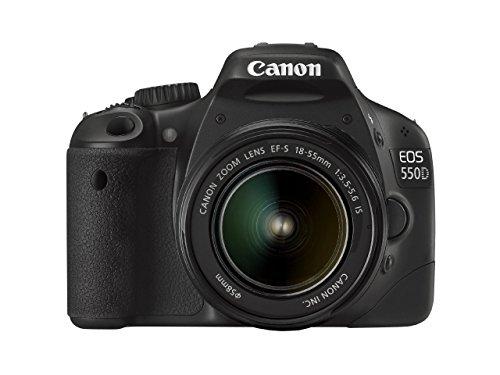 Canon EOS 550D Fotocamera Digitale Reflex 18 Megapixel + Obiettivo 18-55 mm f/3.5-5.6 IS (Ricondizionato Certificato)