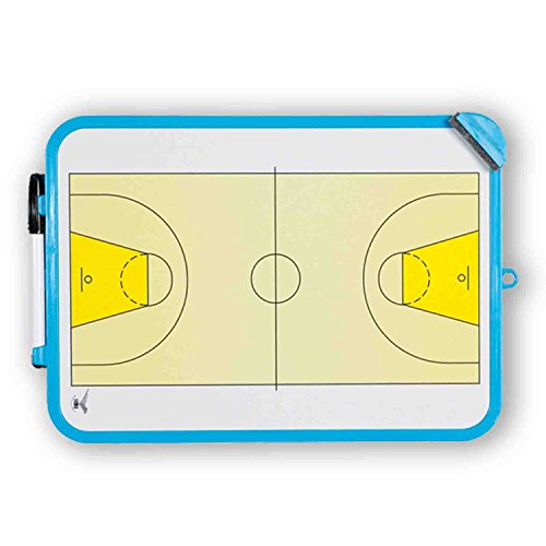 GIMER 10/015, Lavagna Basket Unisex-Adulto, Bianco, L