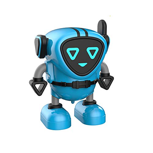 Yacolife Novelty Spinning Top,Detachable Gyro Car Toys,Battling Game Robot Toy,Wind Up Toys for Kids (Blue)