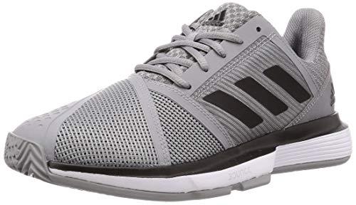adidas Courtjam Bounce M Chaussures de Tennis Homme Gris, 45 1 3