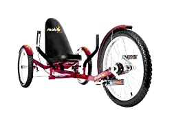 professional Mobo Triton Pro Recumbent Bike. Adult beach tricycle for women and men.Petal tricycle
