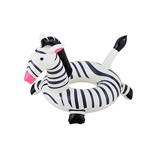 Cisne 2013, S.L. Flotteur Enfant en zèbre pour Plage ou Piscine, Dimensions 91 x 54 x 52 cm. Flotteur Enfant Design Zebra