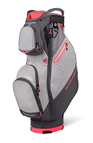 Sun Mountain 2021 Women's Sync Golf Cart Bag (Carbon-White-Dawn)