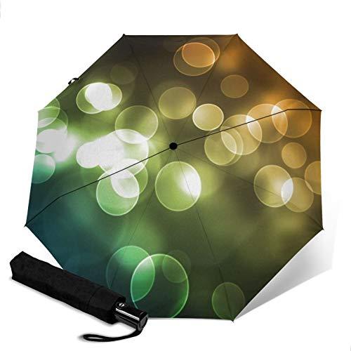 Bubble,Sun & Rain Travel Umbrella - Lightweight Compact Umbrella with UV Protection for Men and Women Multiple Colors
