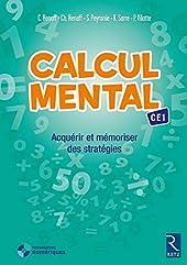 Calcul mental CE1 + CD de Céline Henaff
