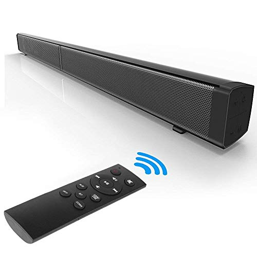 NBWS–Bluetooth TV Barra de Sonido Wired/Wireless Barra de Sonido, HiFi Surround Deep Bass, para 50Pulgadas TV Home Theater (2018Model)