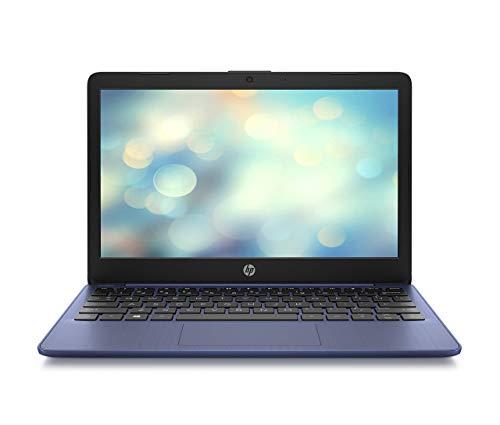 HP Stream 11-ak0292ng (11,6 Zoll / HD) Laptop (Intel Celeron N4020, 64 GB eMMC, 4 GB DDR4 RAM, Intel UHD Grafik, Windows 10 Home inkl. Microsoft Office 365 Single) Blau