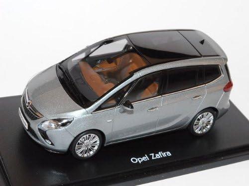 Opel Zafira Tourer C Ab 2012 Silber Lake Grau 1 43 Ist Ixo Modell Auto Mit Individiuellem Wunschkennzeichen Spielzeug