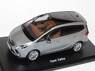 Opel Zafira Tourer C Ab 2012 Silber Lake Grau 1/43 Ist Ixo Modell Auto