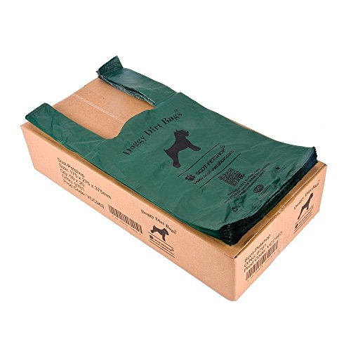 Scot-Petshop Biodegradable Dog Poop Bags x 1000 (Dog Poo Bag/Dog Waste Bags) Eco Friendly, Bulk Buy