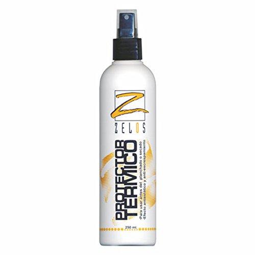 Protector Térmico Para Cabello - 250 ml - Spray protector del calor de plancha, tenacilla y secador - Evita el Encrespamiento y previene daños