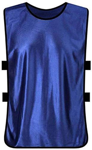Multifunktionale reflektierende Weste Weste Reflektierende Sicherheits Wandern Westen Mannschaftssport Fußball-Fußball-Markierungshemden Fluoreszierende Farbe Lätzchen Basketball Netball Cricket Fußba