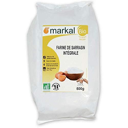 MARKAL Farine de sarrasin intégrale 500G Bio -
