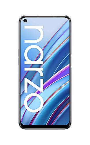 realme narzo 30 (Racing Sliver, 4GB RAM, 64GB Storage) with No Cost EMI/Additional Exchange Offers