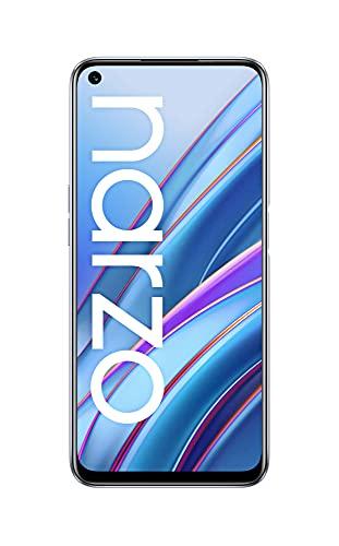realme narzo 30 (Racing Sliver, 6 GB RAM, 64 GB Storage) – MediaTek Helio G95 processor I Full HD+ display with No Cost EMI/Additional Exchange Offers