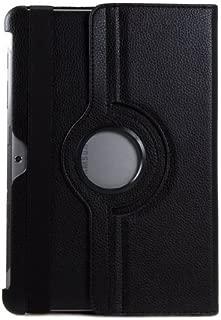 Galaxy Tab 2 10.1 Case, PT Rotating Stand Case For Samsung Galaxy Tab 2 10.1 P5100 P7510 Tablet [Auto Sleep/Wake] - Black