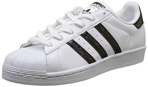 Adidas - Superstar J - DB1209 - Kleur: Wit - Maat: 36 2/3 EU