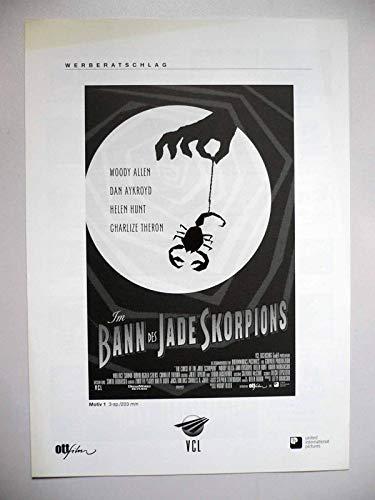 Im Bann des Jade Skorpions - Woody Allen - Charlize Theron - Werberatschlag