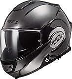 LS2 Casco de motocicleta FF399 VALIANT JEANS Titanium, S