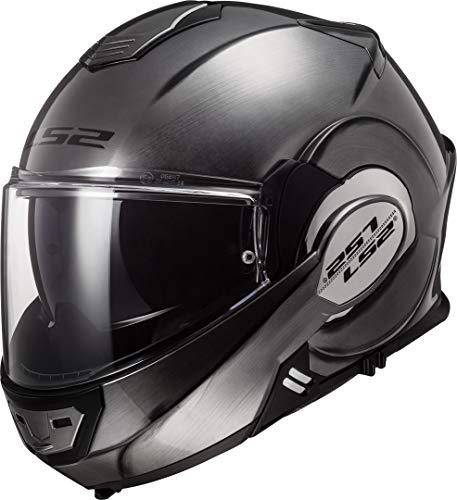 LS2 Herren NC Motorrad Helm, Titanium, S