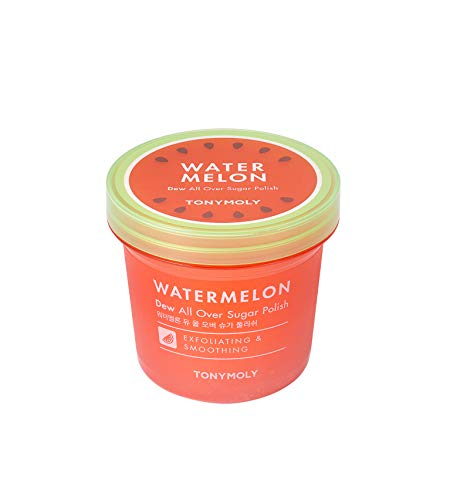 TONYMOLY Watermelon Dew All Over Sugar Polish, 10 oz.
