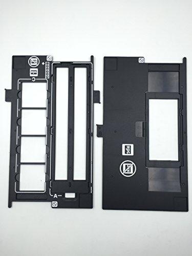 1SET X OKLILI 1423040 1403903 1401444 1423040 1401439 Assy Film Slide 35 mm & 120 220 620 pellicola porta Brownie compatibile con Epson V500 V550 V600 4490 2450. 3170 3200 4180 X750 X770 X820.