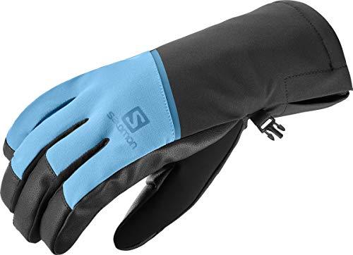 Salomon Herren Leichte Handschuhe, PROPELLER ONE M, Blau (Fjord Blue)/Schwarz, Gr. M, LC1182600