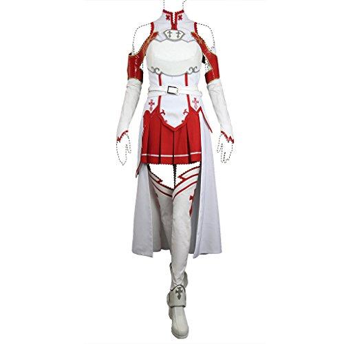 Sword Art Online Cosplay Costume Asuna Yuuki/Asuna Costume Set All