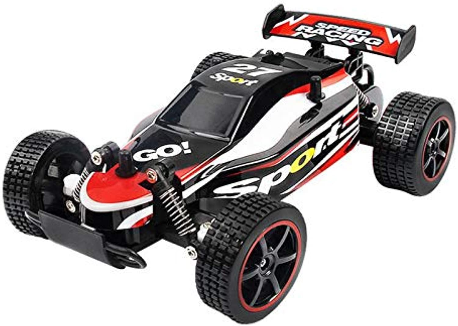 Generic 1 20 2.4GHz 48 KM h Remote Control Car High Speed RC Truck OffRoad Vehicle Gifts Red