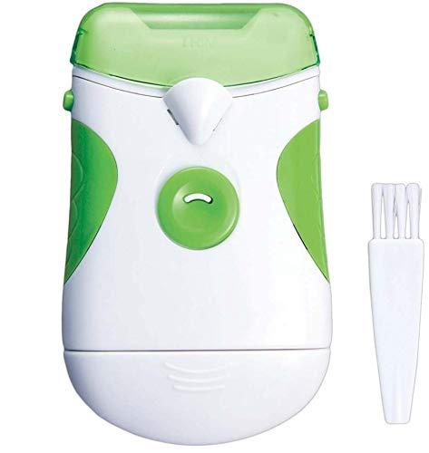 DDL 電動爪切り 電動爪削り LEDライト付き グリーン (介護 子供も安心 触れても安心設計)